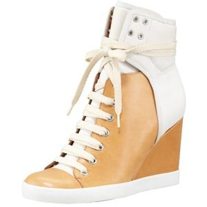 See by Chloé Colorblock Wedge Sneakers - Sz. 37.5